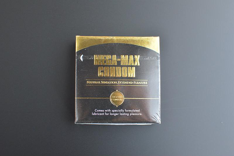 個人輸入のメガマックスコンドーム